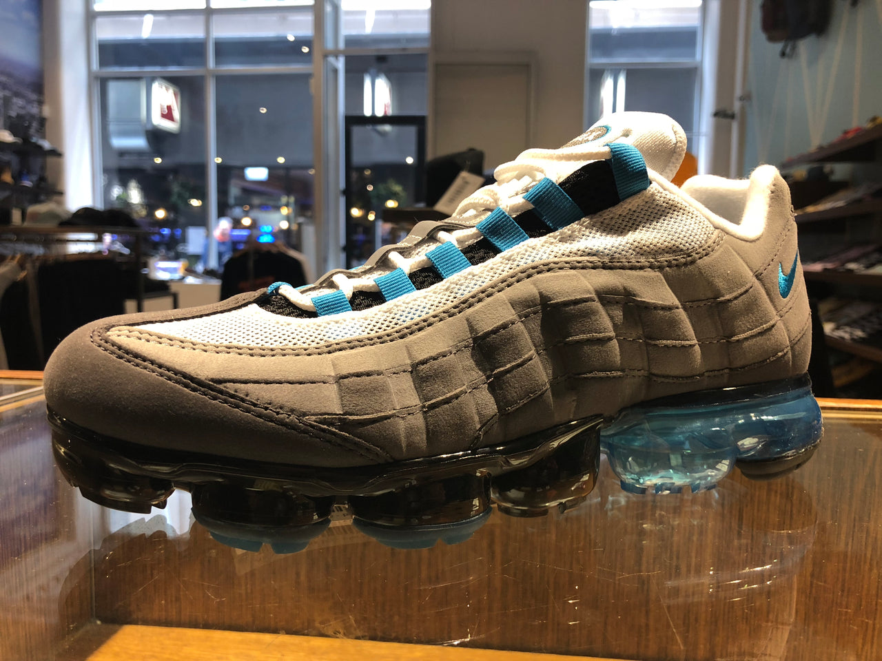Air Vapormax 95 - black/neo turquoise