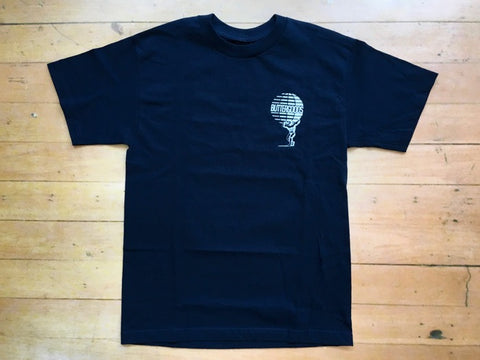 Atlas Worldwide Logo T-Shirt-Navy