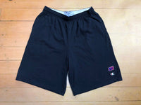 Sure SM Logo Champion Jersey Shorts - Navy