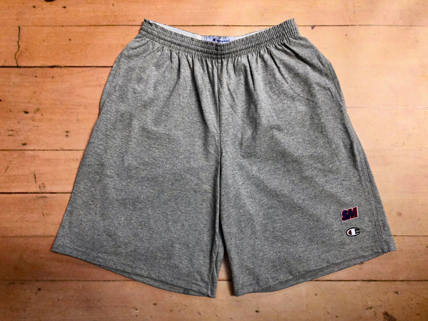 Sure SM Logo Champion Jersey Shorts - Grey