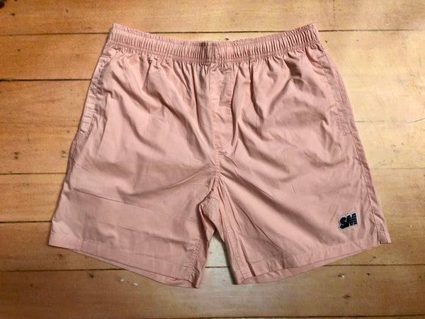 Sure SM Logo Beach Shorts - Pink