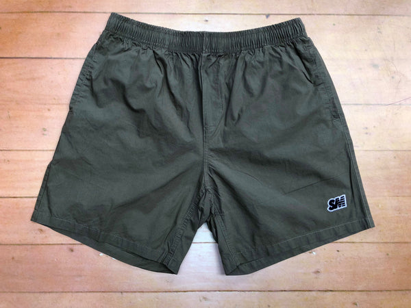 Sure SM Logo Beach Shorts - Green