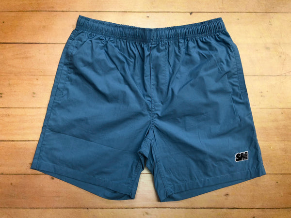 Sure SM Logo Beach Shorts - Blue