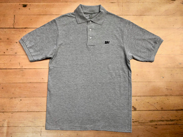 SM Logo Polo Shirt - grey