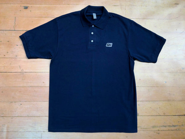 SM Logo Polo Shirt - navy