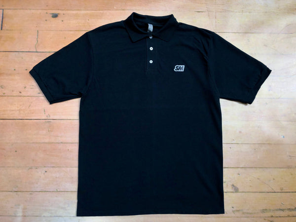 SM Logo Polo Shirt - black