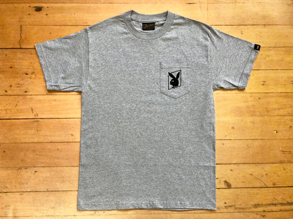 Charmer Pocket T-Shirt - Grey