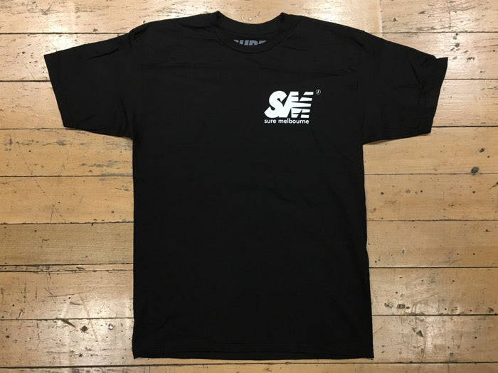 SM Logo T-Shirt - black/white