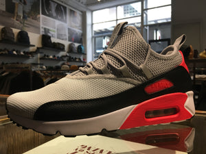Air Max 90 EZ - Grey/Black/Infrared