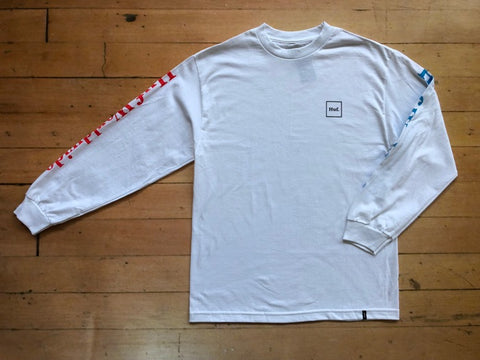 Domestic Longsleeve - white