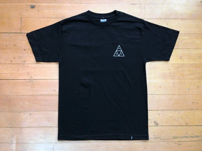 Triple Triangle Tee - Black
