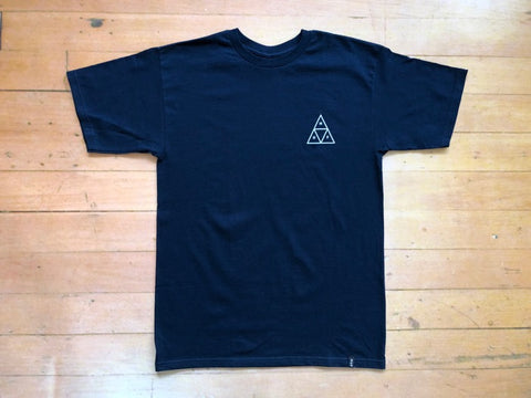 Triple Triangle Tee - Navy
