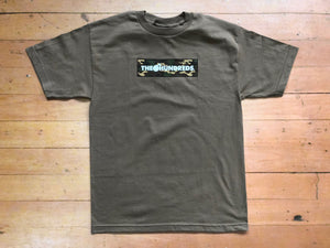 Camo Bar T-Shirt - safari green