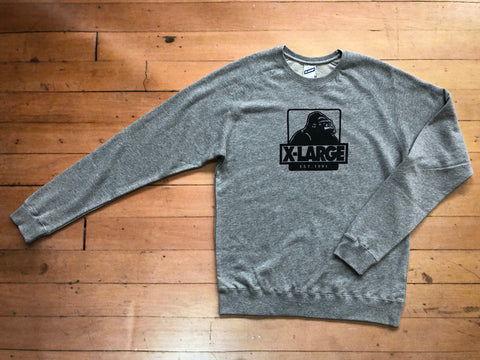 Classic OG Crew - Grey heather