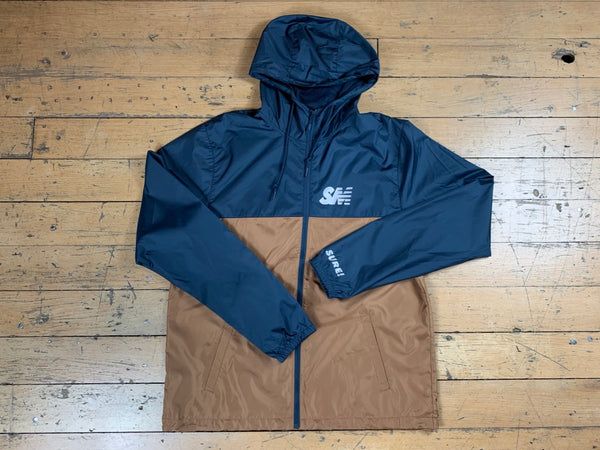 SM 3M Logo Jacket - Navy/Brown