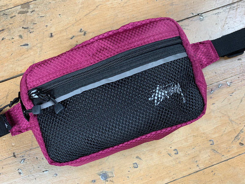 Stock Ripstop Waist Bag - Plum
