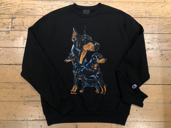 K9 Champion Crewneck Sweatshirt - Black