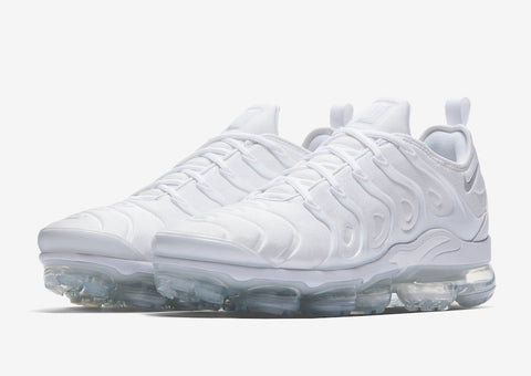 Air Vapormax Plus - white/white