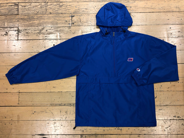 Champion SM Embroid Packable Jacket - Royal