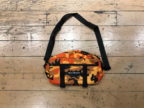 Orange Camo Side Pouch