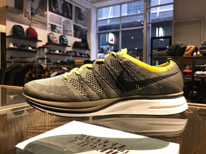 Flyknit trainer - Cargo Khaki/Sail/Bright Citron/Black