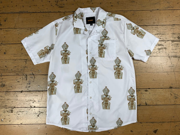 Sculpture Shirt - White