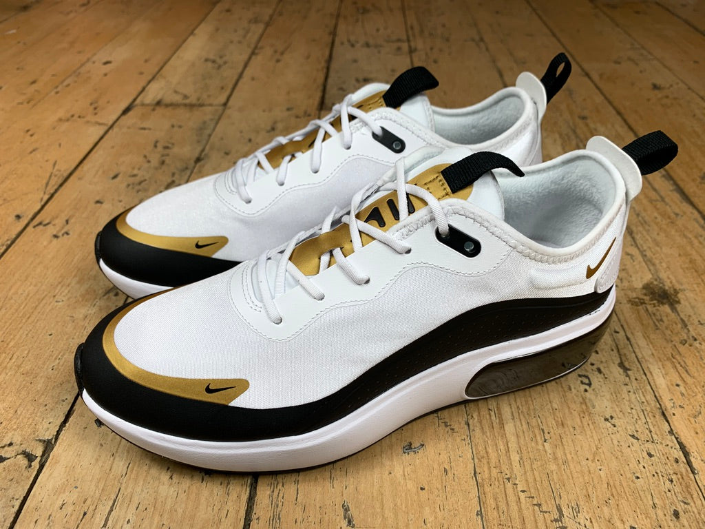 Women's Air Max Dia - White/Black/Metallic Gold