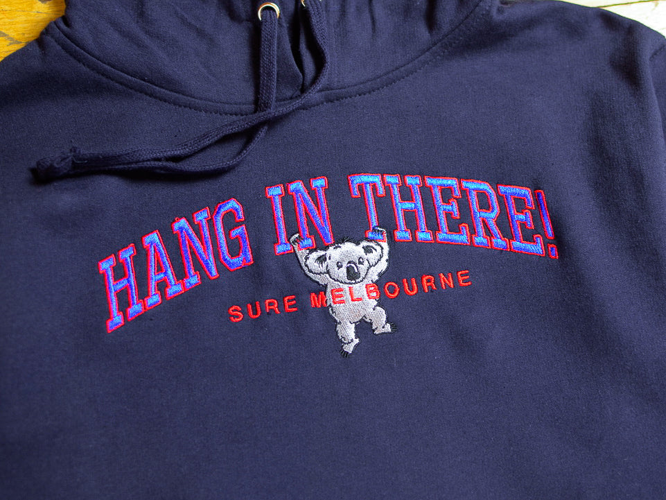 Hang In There Hood - Navy