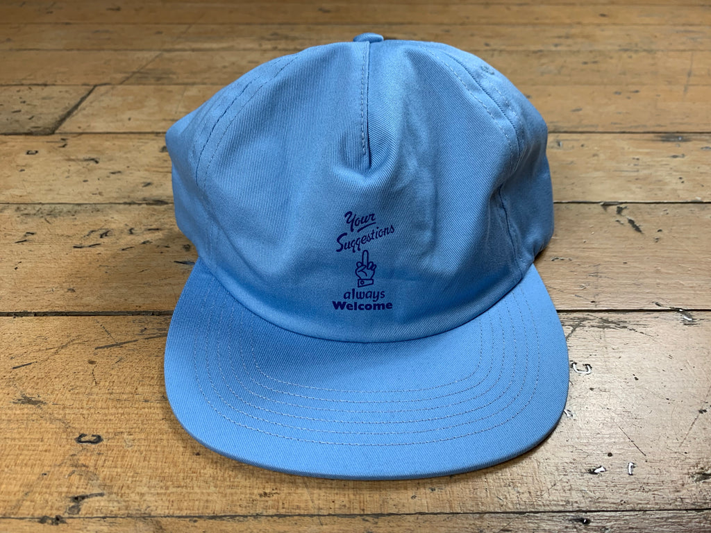 Welcome Cap - Blue