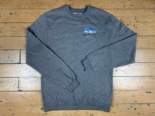 SM City Crewneck - Dark Heather Grey