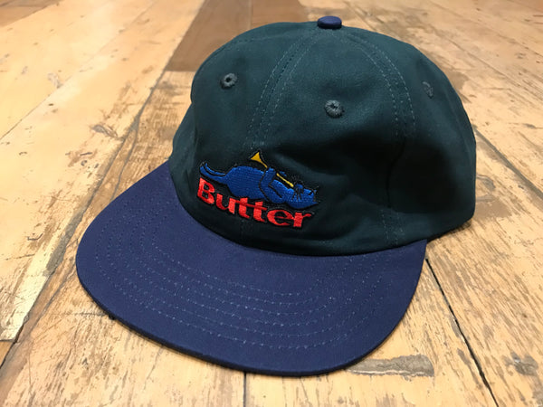 Cat 6 Panel Cap - Mallard/Navy