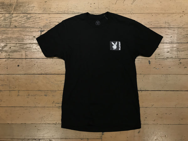 Playboy Grid Tee - Black