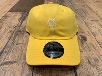C Patch New Era Dad Hat - Yellow