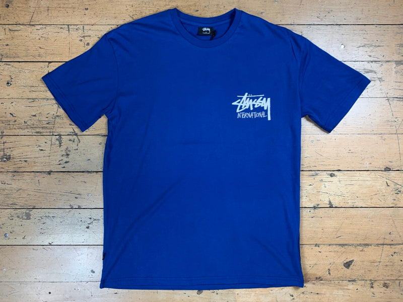 Stock International T-Shirt - Royal Blue
