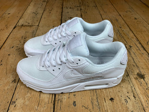 "Women's Air Max 90 - ""Triple White"""