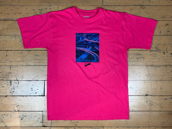 Highway T-Shirt - Hot Pink