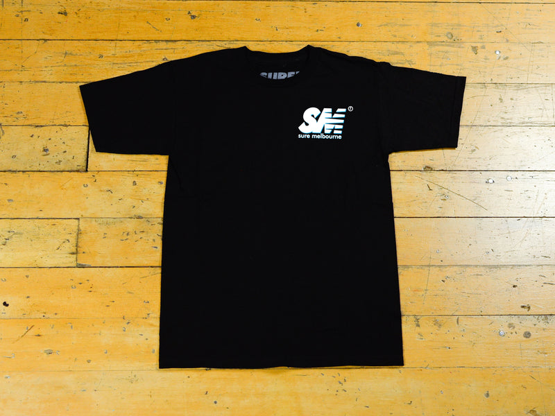 SM Shadow T-Shirt - Black / White / Blue