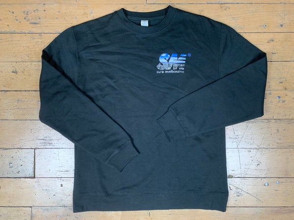 SM City Crewneck - Black