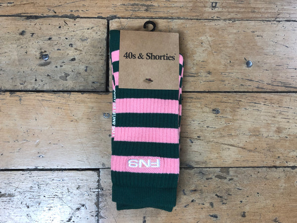 Canal Socks - Green/Pink