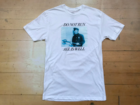 All Is Well Tee - White
