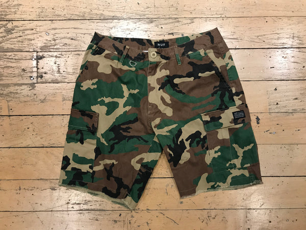 Standard Issue Cargo Short - Woodland Camo