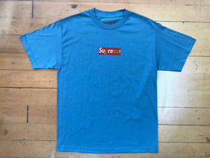 Gold Sharpie T-Shirt - Sky Blue