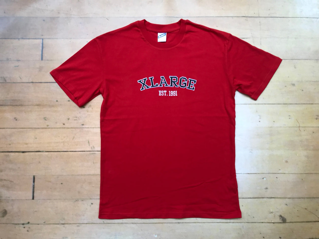 Collegiate T-Shirt - Red