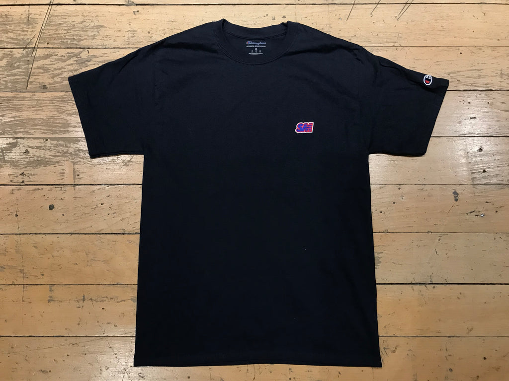 Champion SM Embroid T-Shirt - Navy