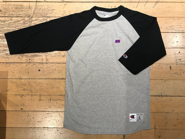 Champion SM Embroid Raglan - Grey