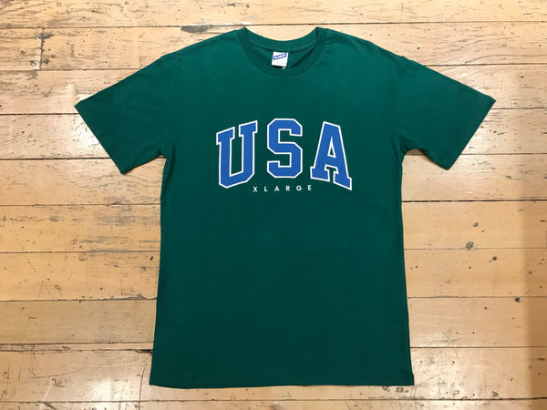 USA T-Shirt - Forest