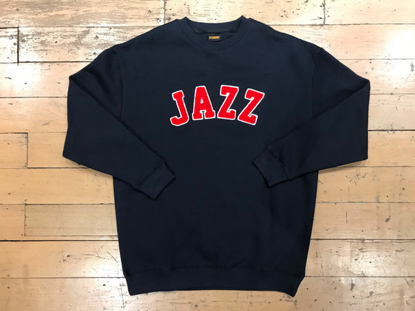 Jazz Applique Sweater - Navy