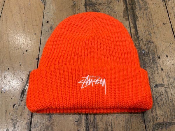 Stock Cuff Beanie - Orange