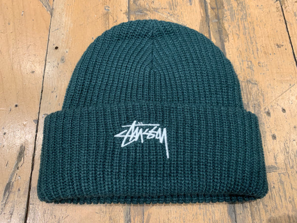 Stock Cuff Beanie - Dark Bottle