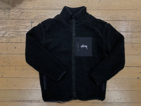 Tribe Sherpa Jacket - Black